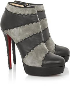 Christian Louboutin Multi Booty Ankle Boots