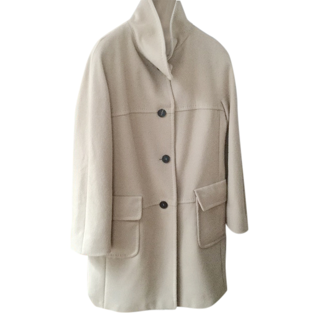 MARELLA beige wool coat