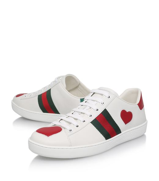 Gucci Ace Heart Sneakers | HEWI