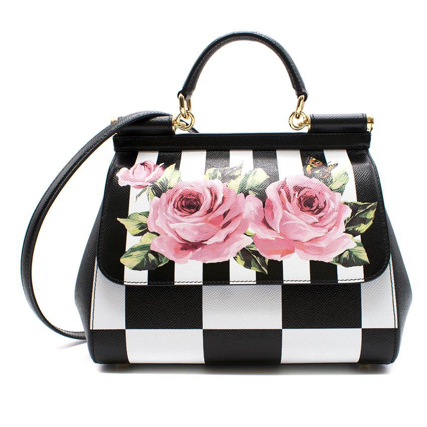 385119ed07 Dolce Gabbana Medium Sicily Bag In Printed Dauphine Calfskin 2018 ...