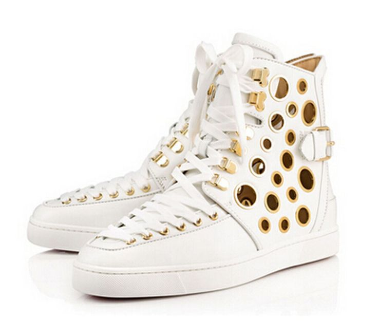 promo code 88de2 7a3c0 Christian Louboutin Alfibully High Top Trainers