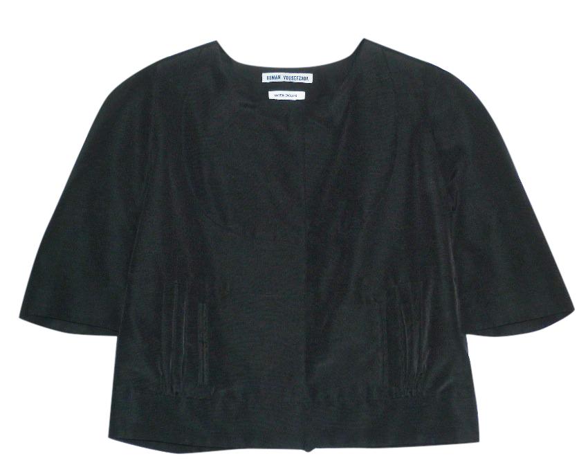 Osman Yousefzada Black Crop Jacket