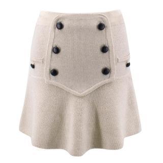Isabel Marant Beige Wool Skirt