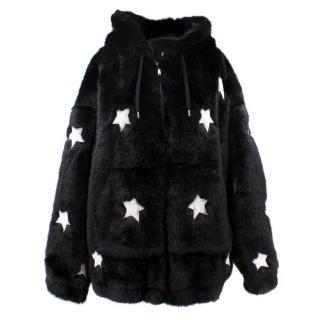 Filles A Papa Faux Fur Embellished Jacket