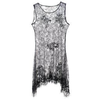 Ermanno Scervino Black Lace Top