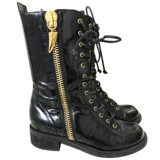 Giuseppe Zanotti Military Style Boots
