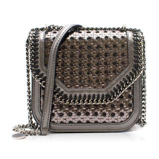 Stella McCartney Falabella Box  Silver Chain Crossbody Bag NEW season