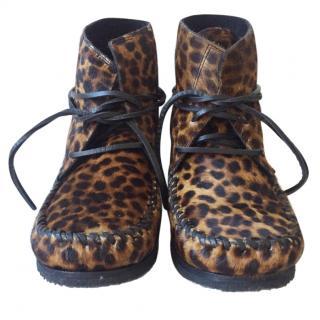 Isabel Marant Etoile flavie moccasin boots