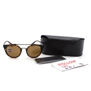 Vuarnet  Round Cable Car Pure Brown Sunglasses
