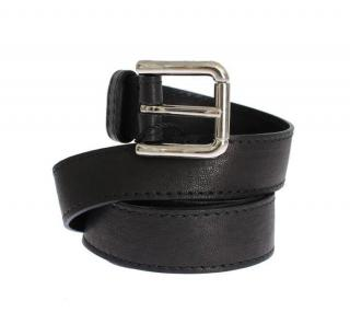Dolce & Gabbana black leather balt