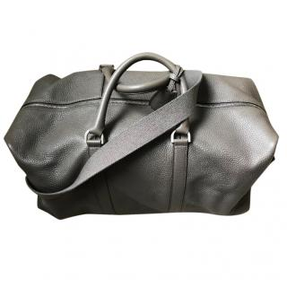 Mulberry Grey Leather Holdall