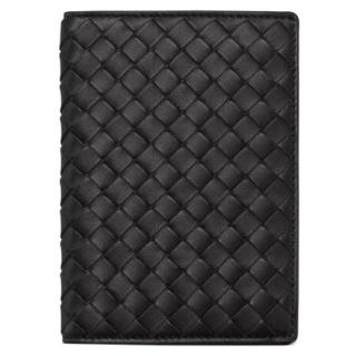 Bottega Veneta black Passport Holder