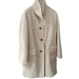 MARELLA beige wool coat