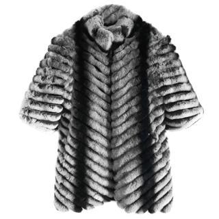 Chinchilla REX Rabbit Coat