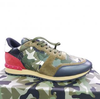 VALENTINO GARAVANI Rockkrunner Camo Sneakers 42,5 EU