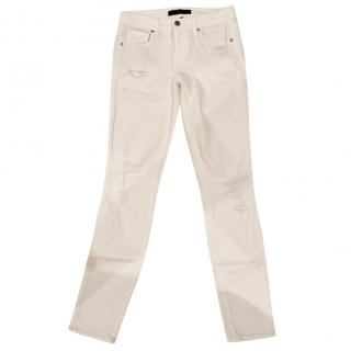 525034ea1b10 Genetic white Skinny jeans