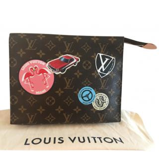 Limited edition Louis Vuitton Toiletry Pouch World Tour