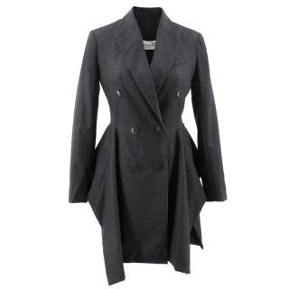 Christian Dior Wool Pin Striped Blazer