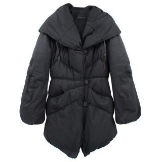 Ermanno Scervino Hooded Puffer Long Coat