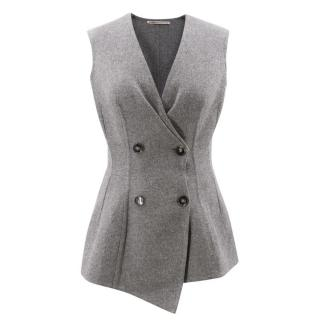 Ermanno Scervino Double Breasted Wool Vest