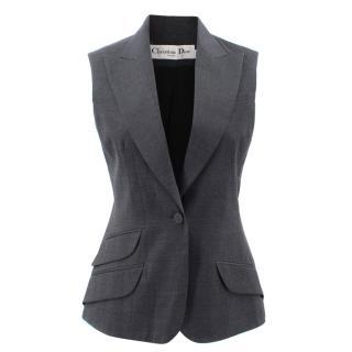 Christian Dior Wool Grey Gilet