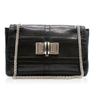 Christian Louboutin Sweet Charity Embossed Leather Bag