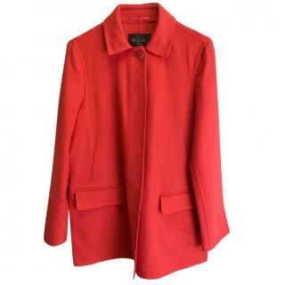 Loro Piana Red Cashmere Jacket/Coat