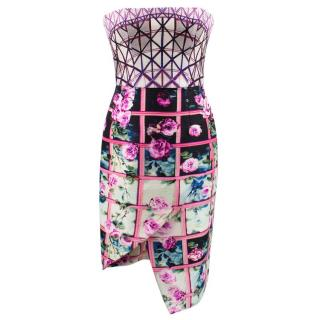 Mary Katrantzou Patterned Silk Dress