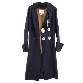 JW Anderson/Mackintosh Men's Navy Trench Coat