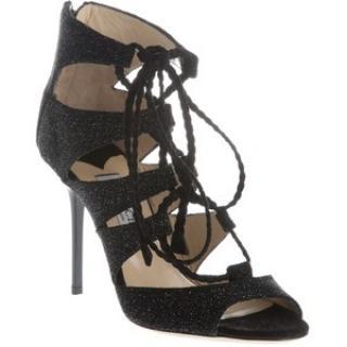 Jimmy Choo black Gladys sandals