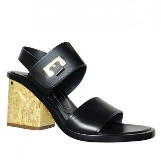 Balenciaga black sandals