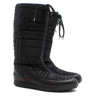 Gucci Waterproof Fabric Snow Boots
