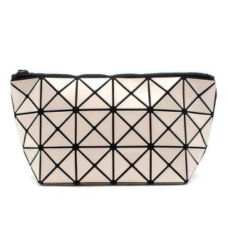 Issey Miyake Bao Bao Cream Prism Patent Cosmetic Pouch
