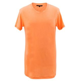 Christopher Kane Neon Orange T-Shirt