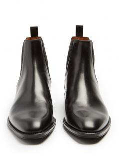 GIVENCHY  Contrast-heel leather chelsea boots