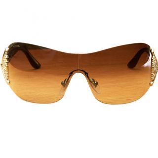 Bvlgari crystal embellished sunglasses