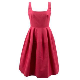 Alexander McQueen Pink Silk Dress