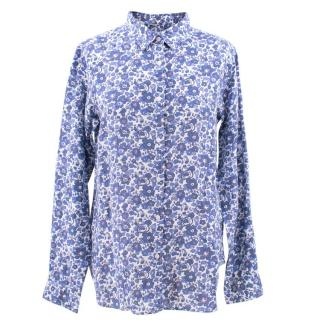 Liberty Blue Floral Shirt