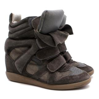 Isabel Marant Beckett Grey Sneakers