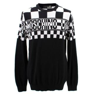 Love Moschino Monochrome  Cotton Jumper