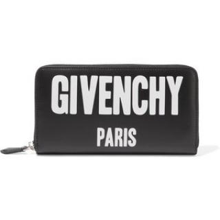 Givenchy Paris black zipper  purse