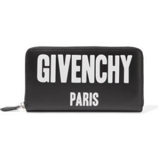 Givenchy Paris black zipper  purse