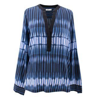 Vince Silk Pattern Shirt