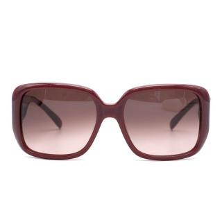 Chloe Square Frame Sunglasses