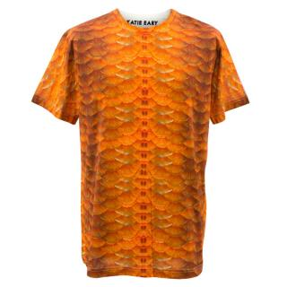 Katie Eary Orange Print T-shirt