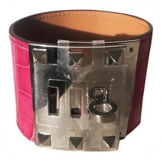 Hermes alligator bracelet
