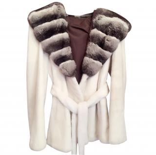 Kopenhagen Mink /chinchilla Fur Coat