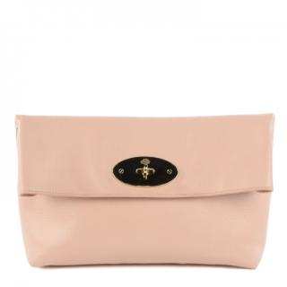 Mulberry Clemmie clutch Medium in Ballet Pink