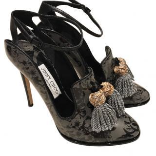 Jimmy Choo heels with tassel detail