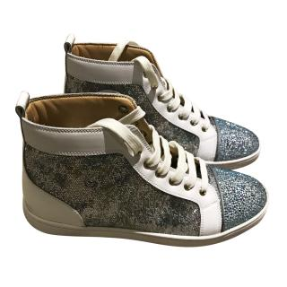 Christian Loubouton high top trainers